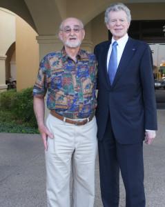 Van Cliburn and John DeRuntz